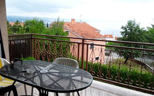 Apartment with Beautiful Open Sea View for Sale in Croatia, Icici (1)