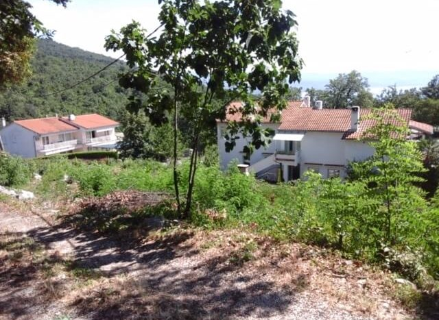 Building land in a quiet location for sale in Opatija surrounding