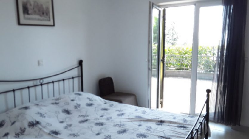 Modern Furnished apartment with large terrace for sale in croatia bedroom