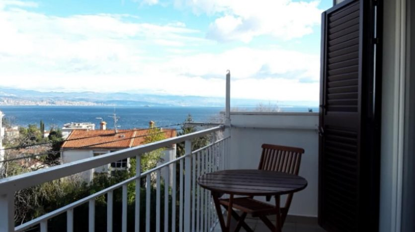 Furnished Apartment 300 m from the Sea for Sale - Balcony