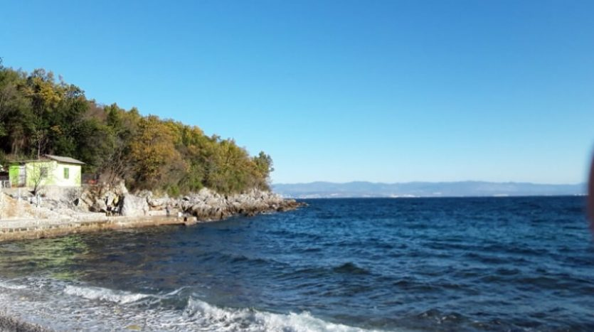 Investment Land - First Line to the Sea for sale in Opatija