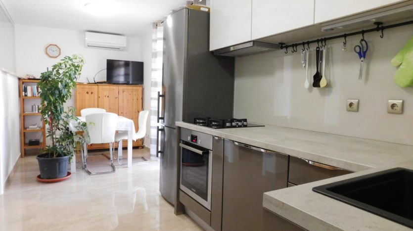 2 Apartments near the sea with private garden on island Krk - kitchen