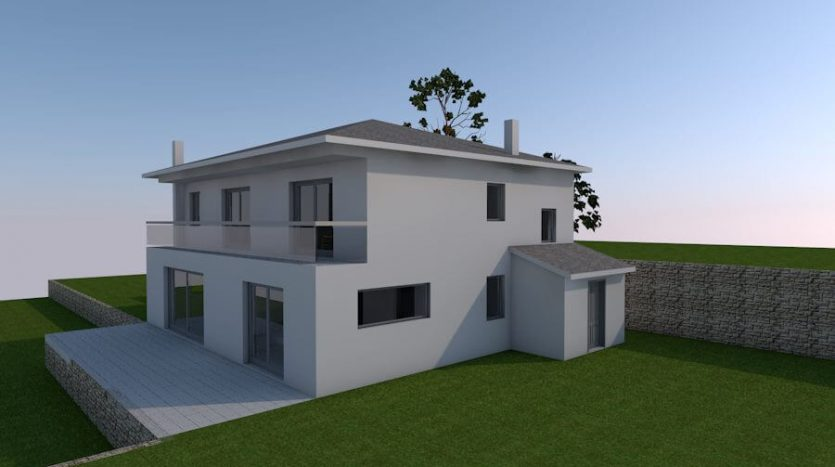 Land plot with building permit and seaview in Croatia (1)
