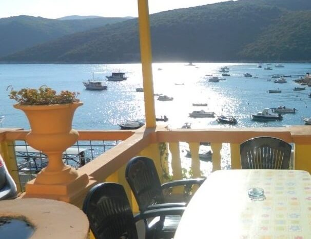House first row to the sea in Rabac fo