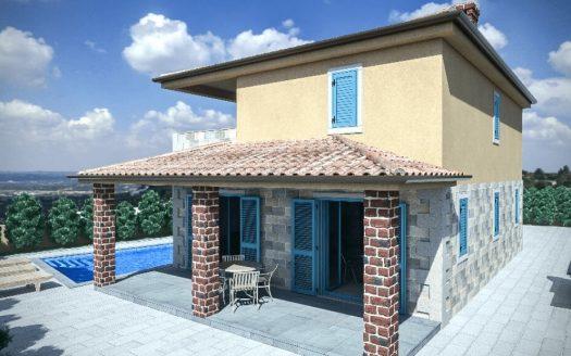Mediterranes Designhaus in krk