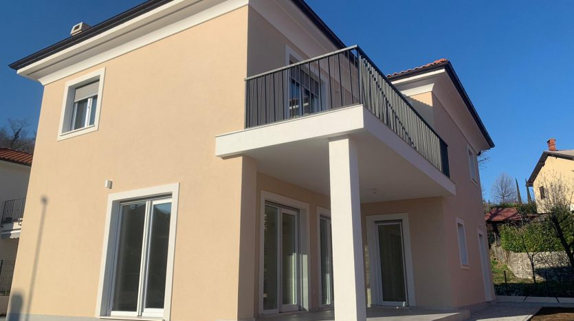 Completely new mediterranean house for sale opatija surrounding