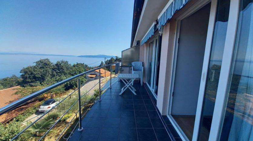 Apartment mit Meerblick zum Verkauf in Opatija (12)